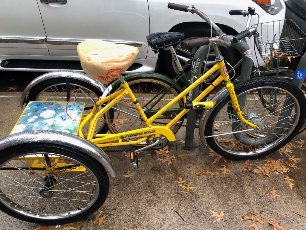 Adult Tricycle Yellow